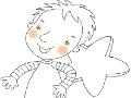 kolorowanka-dziewczynka-i-chlopiec